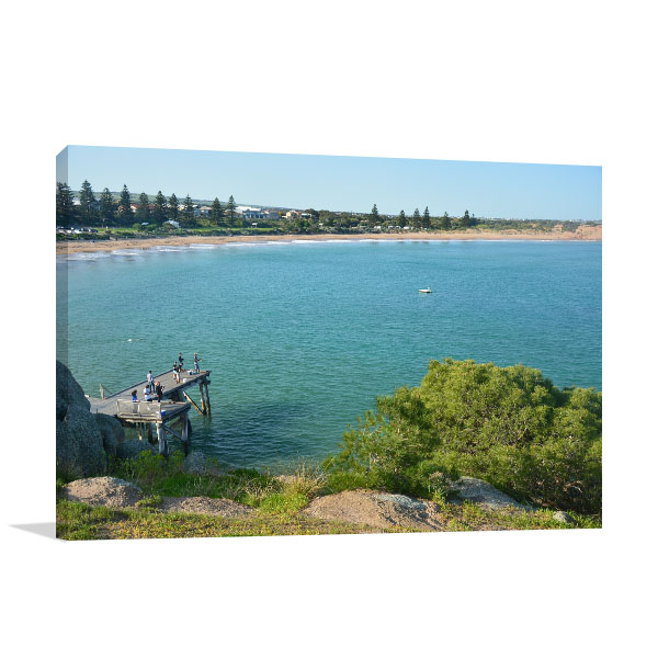 South Australia Wall Art Print Encounter Bay Picture Canvas