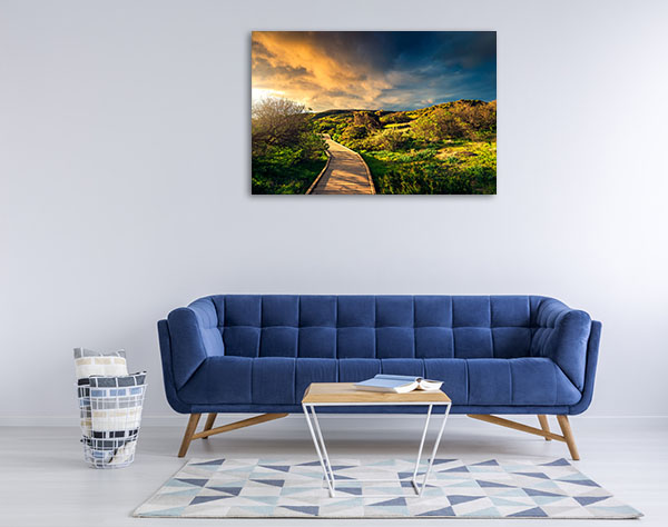 South Australia Wall Art Print Hallett Cove Canvas Photo