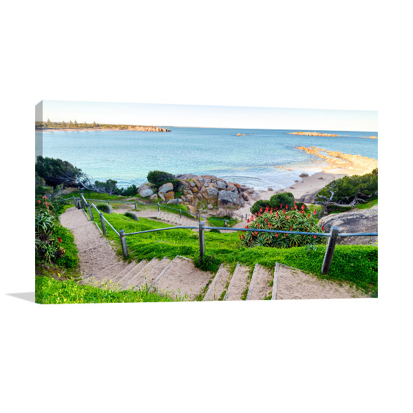 South Australia Wall Art Print Port Elliot Walkway Canvas Photo