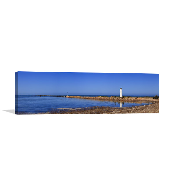 South Australia Wall Art Print Port Germein Jetty Photo Canvas
