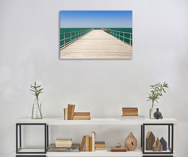South Australia Wall Art Print Stenhouse Bay Jetty Canvas Artwork