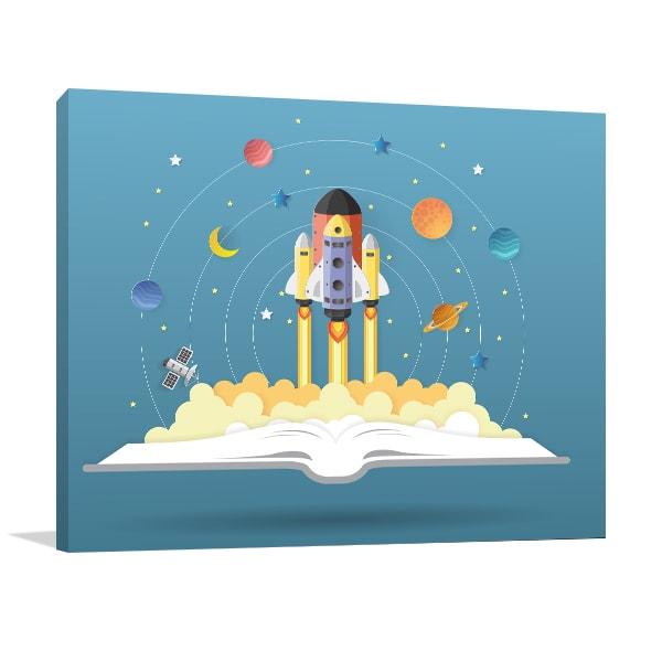Space Book Artwork