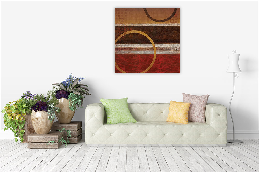 Shape Abstract Canvas Print