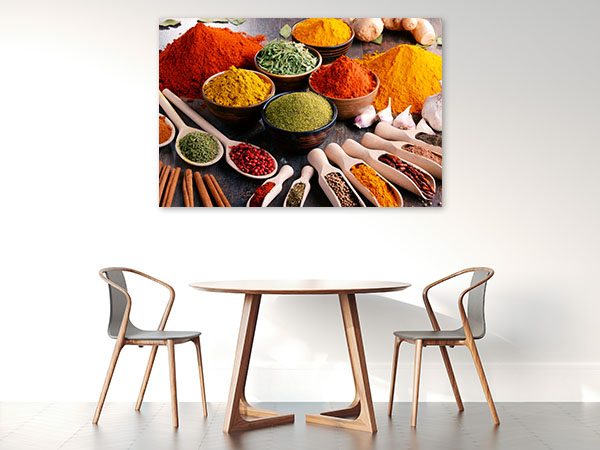 Spices And Herbs Canvas Art