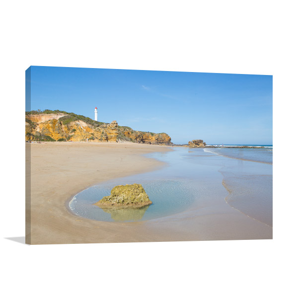 Split Point Canvas Print Lighthouse Photo Wall Arts
