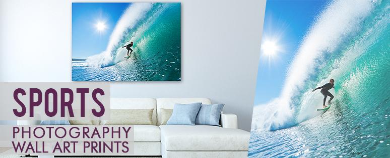 Sports Art Style Prints On Canvas
