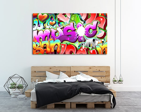Sprayed Wall Vector Wall Art