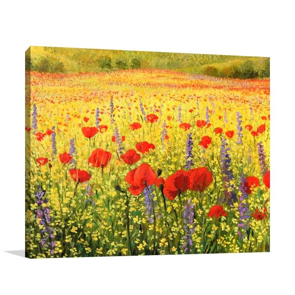 Spring Blossom Canvas Art Prints