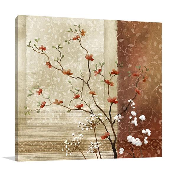 Spring Branch II Canvas Wall Art