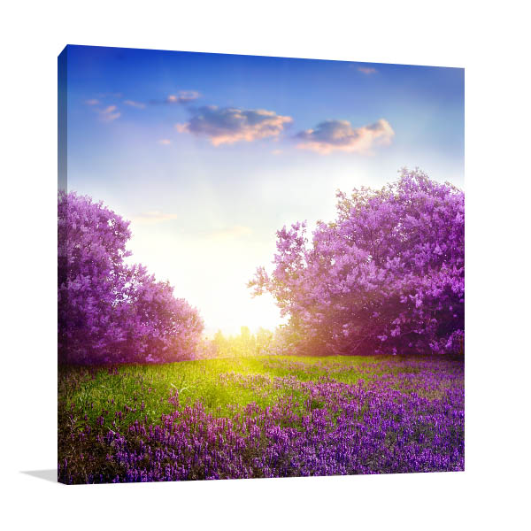 Spring Lilac Prints Canvas