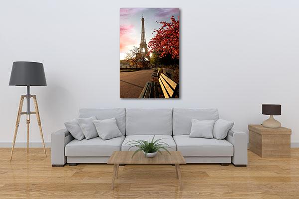 Spring Morning Eiffel Tower Artwork