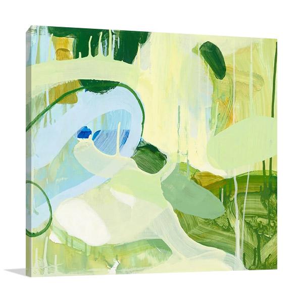 Spring Rain II Art Print