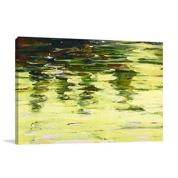 Spring Reflections Art Print | Marin