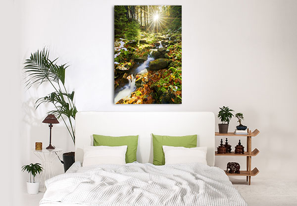Spring Running Canvas Prints