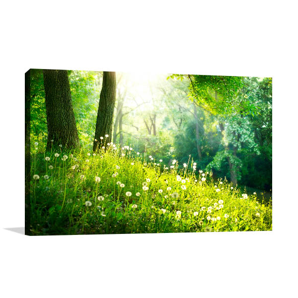 Spring Tranquil Nature Wall Art