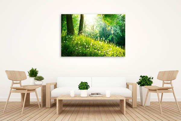 Spring Tranquil Nature Print Artwork