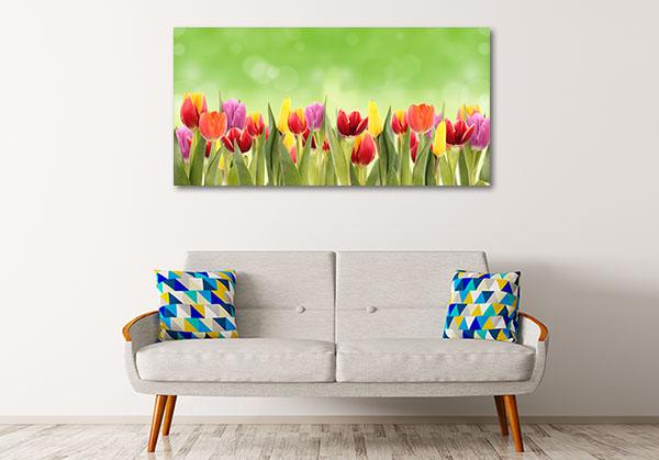 Spring Tulipa Prints Canvas