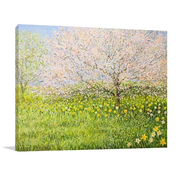 Springtime Landscape Artwork