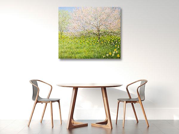 Springtime Landscape Wall Art