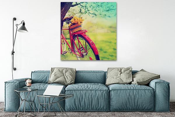 Sprint Art Print on the wall