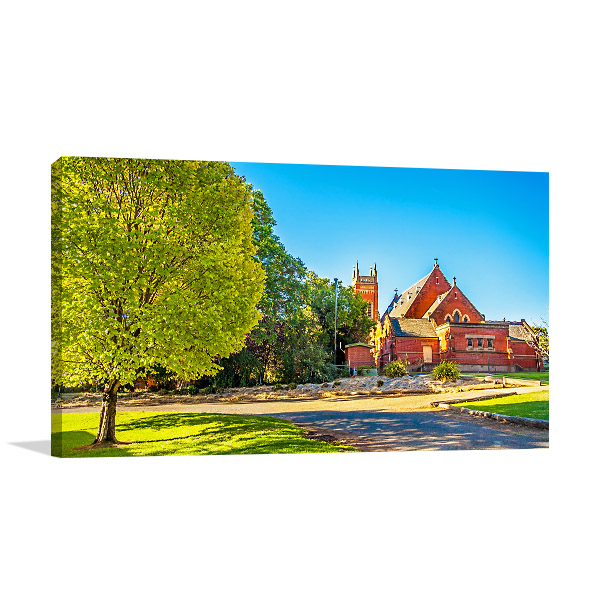 St Mels Church Canvas Print Narrandera NSW Photo Art