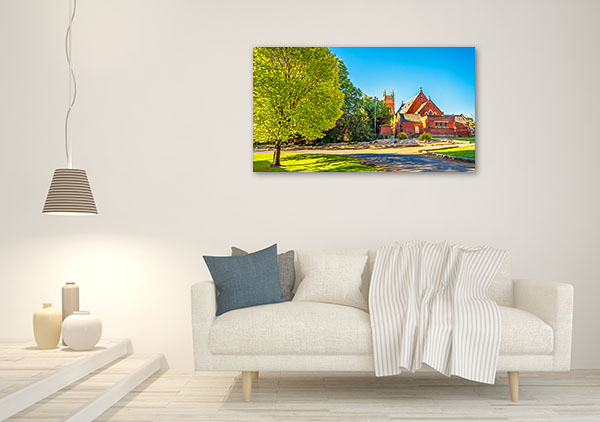 St Mels Church Canvas Print Narrandera NSW Canvas Artwork