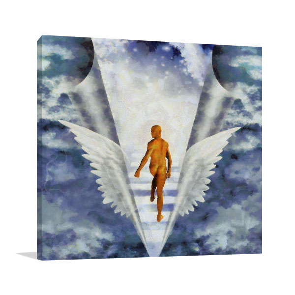 Stairs To Heaven Wall Art