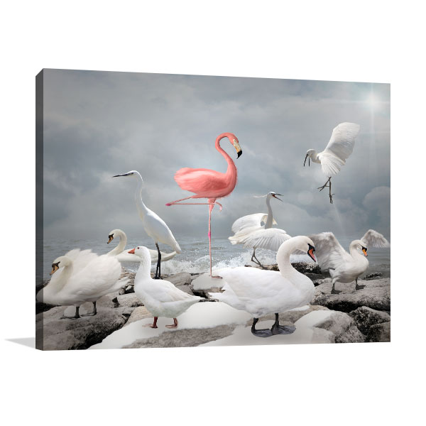 Stand Out From Crowd Print Artwork