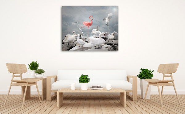 Stand Out From Crowd Art Prints