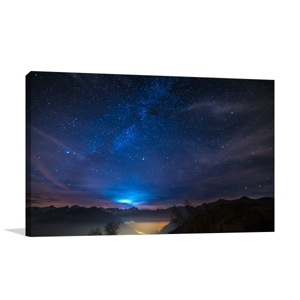 Starry Sky Prints Canvas