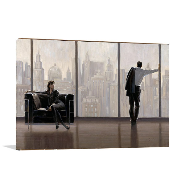 State of Mind Canvas Wall Print