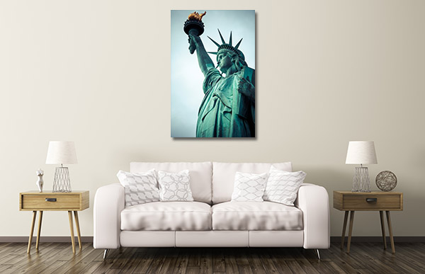 Statue of Liberty NYC Canvas Prints