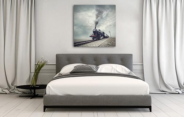 Steam Engine Train Wall Art