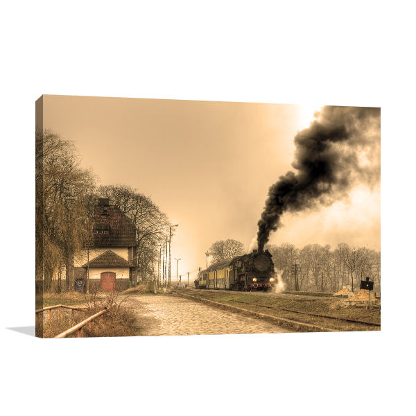 Steamrail Artwork Wall Prints