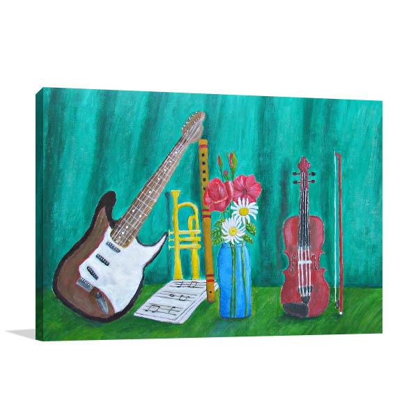 Still Life Music Canvas Art
