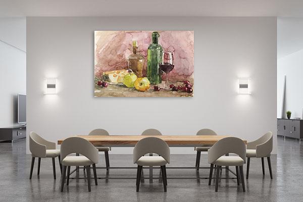 Still Life Of Fruits Artwork
