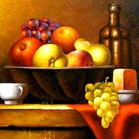 Hand Painted Still Life Art Oil Paintings on Canvas