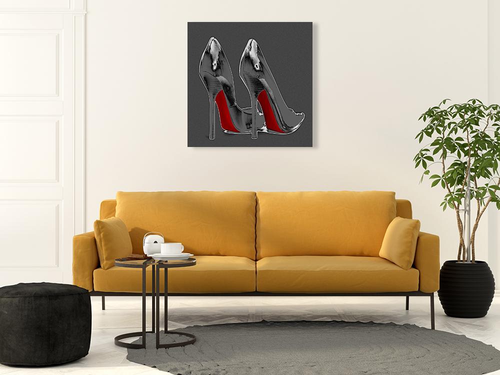 Modern Fashion Canvas Art Print