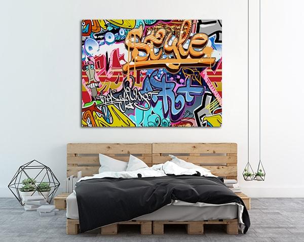 Street Tags Canvas Art