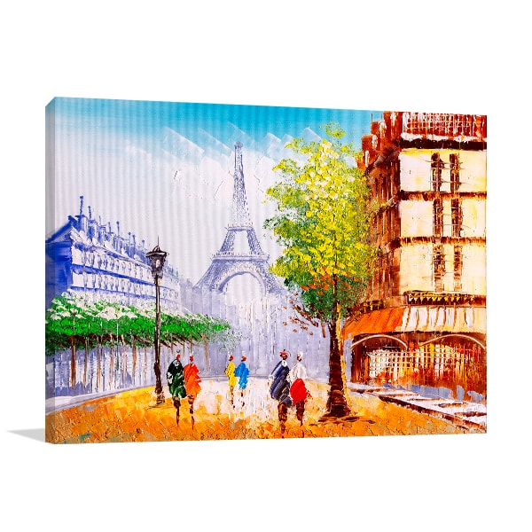 Street View Canvas Art Prints