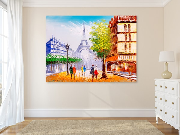 Street View Canvas Prints
