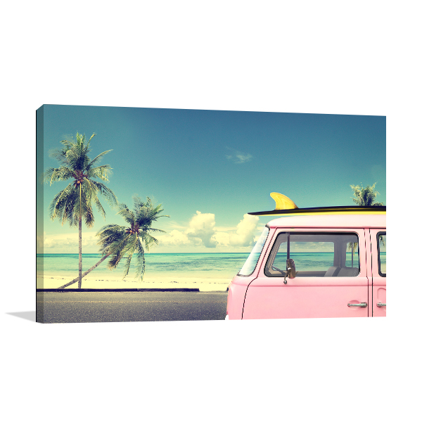 summe Wall Canvas Print