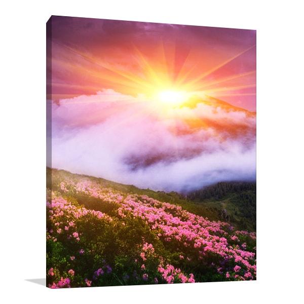 Summer Blossom Art Prints