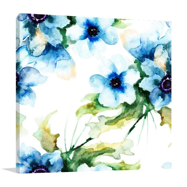 Summer Blue Art Prints