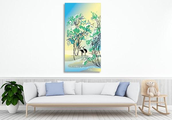 Summer Prints Canvas