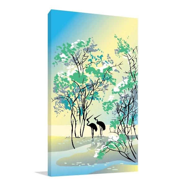 Summer Canvas Prints