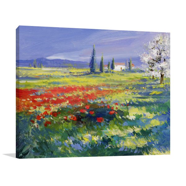 Summer Meadow Art Prints