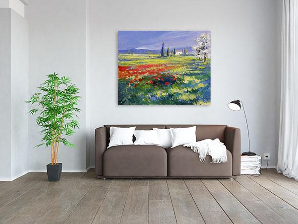 Summer Meadow Canvas Art