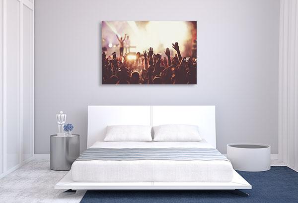 Summer Music Festival Canvas Art Prints