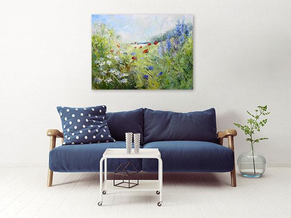 Summer Season Canvas Prints